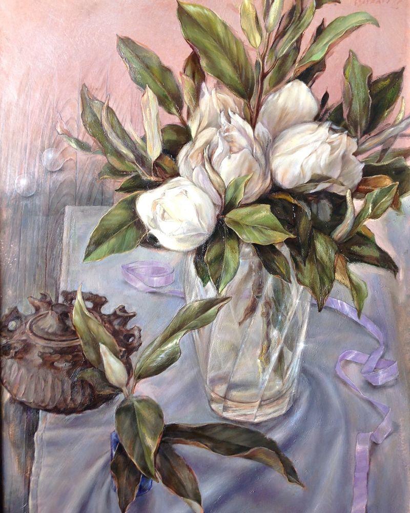 Mañana de magnolias